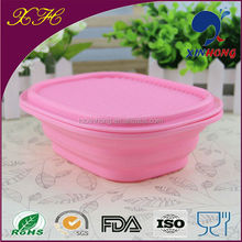 China Wholesale Food Grade Single Cup Silicone Fold Up Lunch Box ,Aluminum Mess Tin
