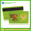 Low cheap price PVC plastic magnetic stripe card factory