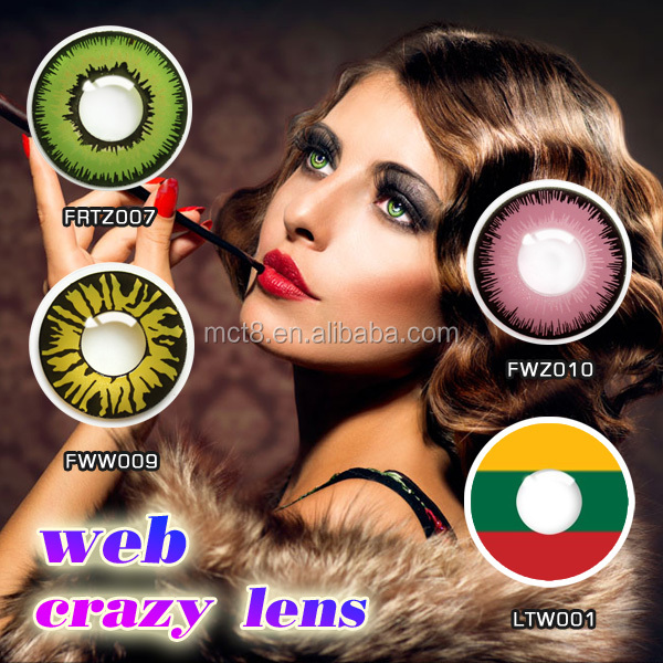 New design color contct lens /color contact lenses iris eyes