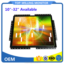 Square 4:3 Open Frame 19 inch TFT LCD Touch Screen Monitor Metal Shell for Vending Machine