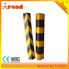 Installation firmly round rubber parking corner guard