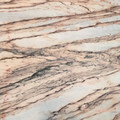 Rose Aurora marble slab from Xiamen Eastwood Stone