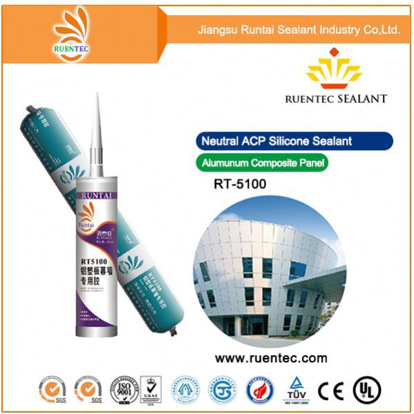 General Purpose 100% Rtv Silver Silicone Sealant For Cladding Curtain Wall Best Price Clear Natural Silicone Sealant