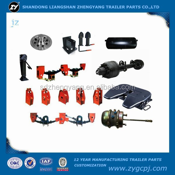 china factory of trailer parts double air brake chamber