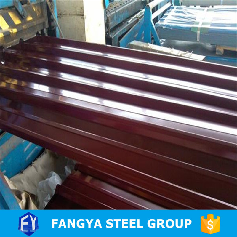 Stock ! metal roofing factory color coated concrete roof tile steel sheets