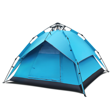 3-4 person various colors fun camp tent