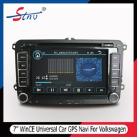 7 Inch Win CE 6.0 Universal Car DVD GPS Navigation For Volkswagen