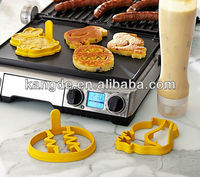 Easter Silicone Moulds for Baking Cake with 3pcs/set,Easter Pancake Molds