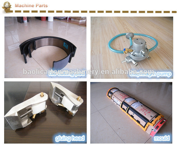 The head of gluing box machine good quality parts