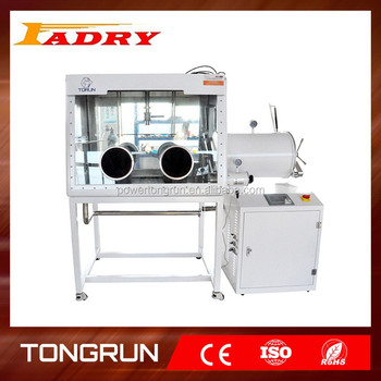 glove box can be used for TIG Welding and Resistance Welding of thin film solar cells