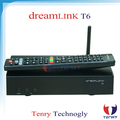 2016 New FTA Receiver dreamlink hd T6 set top box for North America market