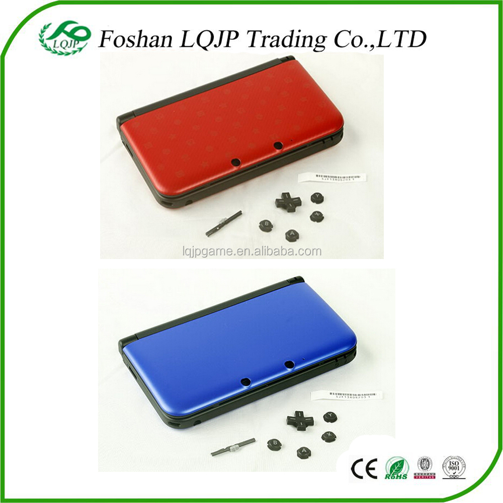 Original New Blue silver red black full Housing Shell Case For nintendo 3ds xl for n3ds xl replacement shell housing case