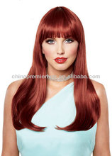 hot selling pink human hair wigs