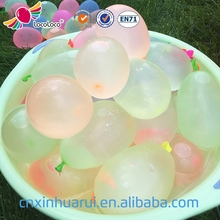 "Factory wholesale high quality 3"" magic latex balloon water bomb balloon for summer toys"