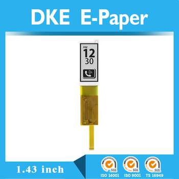 1.43 inch e paper display with e ink technology e paper and mono and color epaper