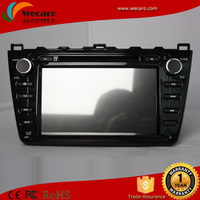 wecaro pure android 4.4 car navigator for mazda 6 in dash car dvd gps