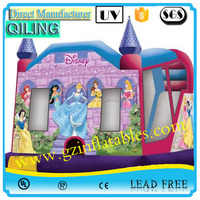2016 Qi Ling popular jumping bounce/commercial outdoor inflatable bouncy castles for children