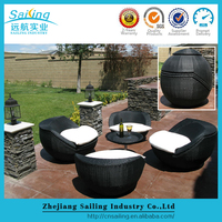 Sailing Uv-Resistan Luxury Palace Italian Classic Lowes Wicker Used Hotel Patio Pool Furniture