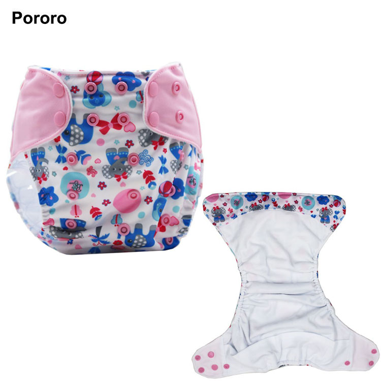 Babyshow AIO Style Pocket Cloth Diaper Digital Printing Matched Tab Washable Reusable Cloth Nappy Adjustable Size Babyshow