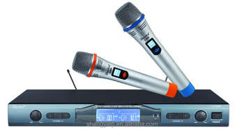 UHF wireless microphone system for professional U-5988