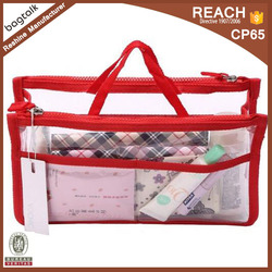 Travel Smart Hand Pouch Bag In Bag Organiser In Cosmetic Gadget Purse Organizer CT0106