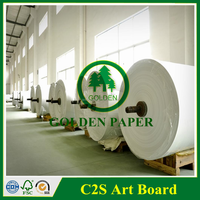 both sides coated gloss art paper/ 105gsm 115gsm 128gsm 150gsm art paper