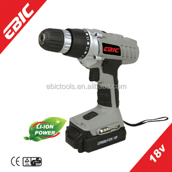2014 New Products of Two Speeds Li-ion Battery 18V Cordless Drill
