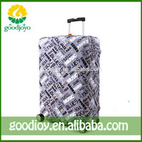 Promotional customized expandable luggage cover and luggage travel bag