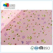 Floral Printing Gift Wrapping Paper for Mother Gift