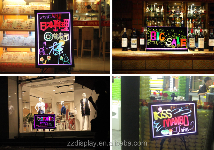 Promotion use led advertise screen boards, for notification or advertising