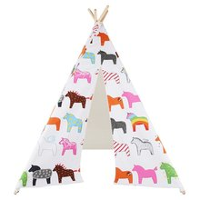 Children Kids Cotton Indian Play Teepee Tent