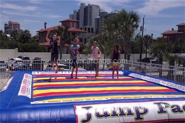 Customized inflatable jumping pad/Inflatable Jumping Air Bag /inflatable game for kids