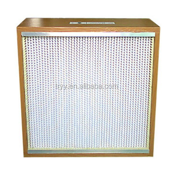 Factory export Hepa air box filter cartridge