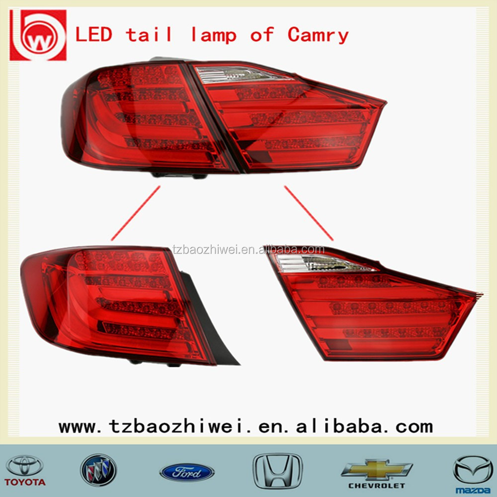 OEM LED automobile LED tail lights of Toyota Camry