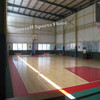 roll padkage basketball pvc floor Wear - resistant shock absorption and flexible indoor basketball pvc floor