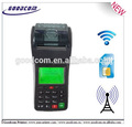 Wifi 3G Payment Terminal POS with Printer for Vending Vouchers