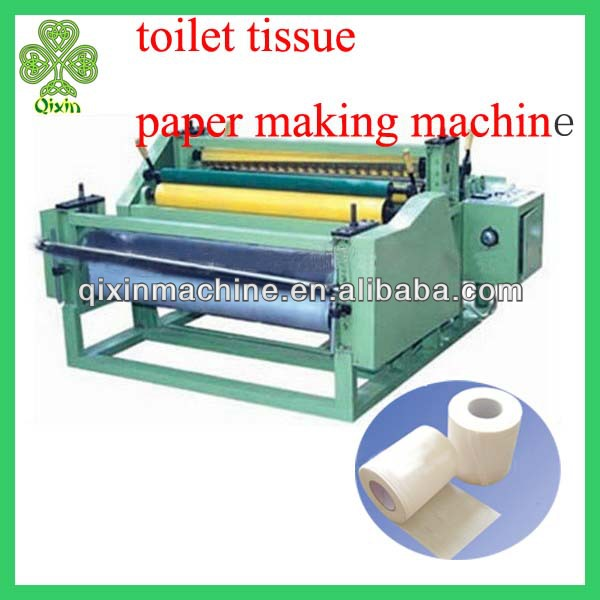 Good quality automatic toilet tissue paper making machine