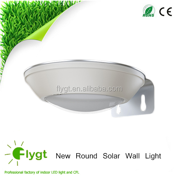 Factory Price Durable Aluminum Solar Powered Led Outdoor Pillar Gate Light