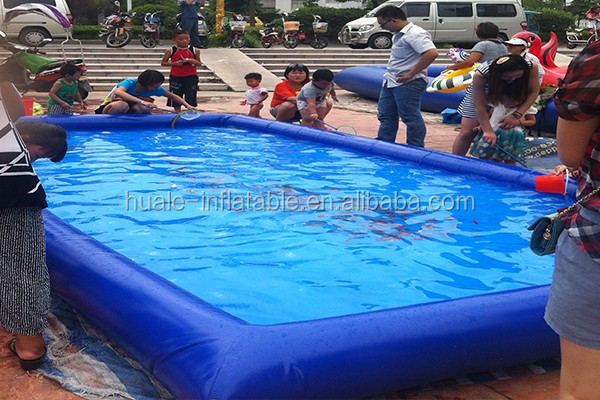 Large inflatable square water swimming pool inflatable sand pool inflatable water toys pool