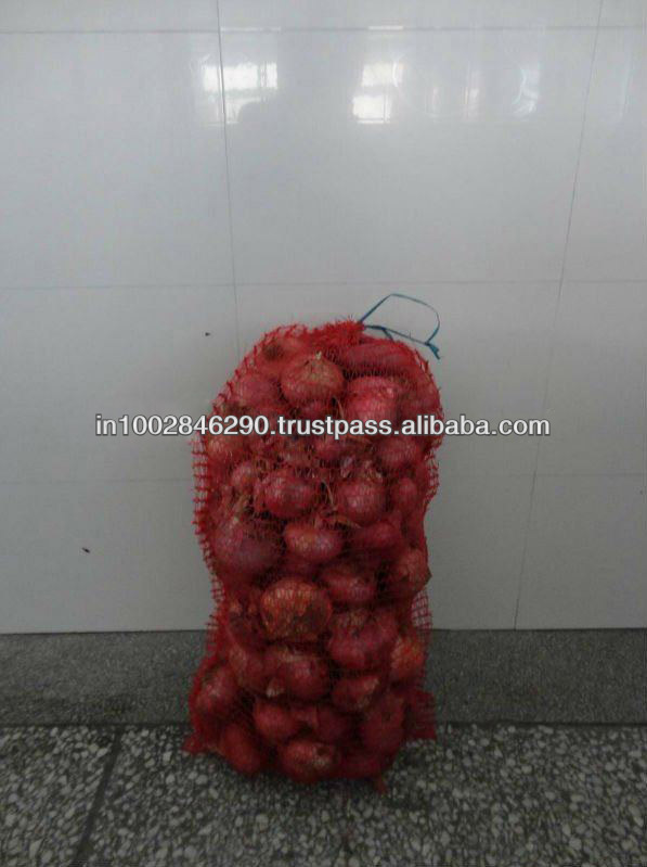 Mesh bags for Potato & Onion Packing .