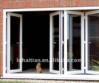 Folding Door Upvc Collapsible Gate