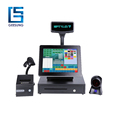 Complete 17 Inch Pos System Terminal with Cash Drawer/Printer/VFD display/Scanner