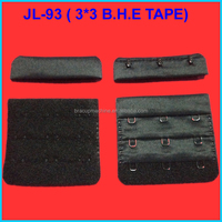 JL-93A BRA HOOK & EYE TAPE, GARMENTS BRA HOOK AND EYE TAPE