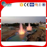 Customized size outdoor fireworks fountain angel fountain supplied by factory