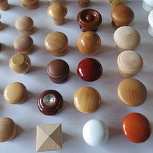 wholesale wood knobs Wood Cabinet Drawer Pull Knobs