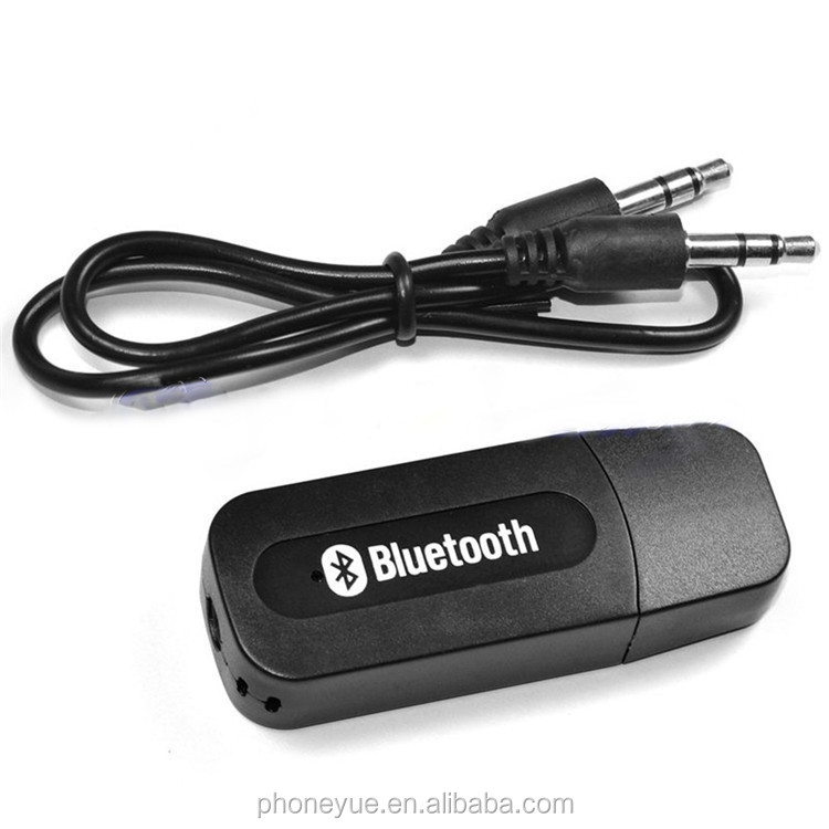 <strong>Mini</strong> Portable 3.5mm Stereo Music Audio USB Wireless Bluetooth Receiver Dongle Kit