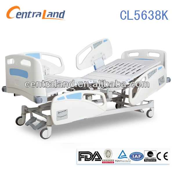 electric five-function adjustable emergency bed