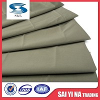 China wholesale factory price poly polyester cotton twill fabric for pants