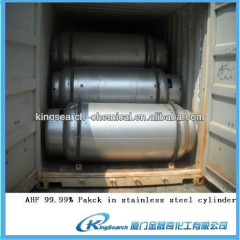 Anhydrous hydrofluoric acid (ahf) from China fatory