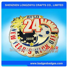Custom commemorative novelty gold coin for new year